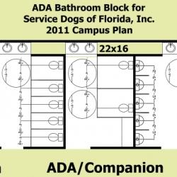 ADA Bathroom Block